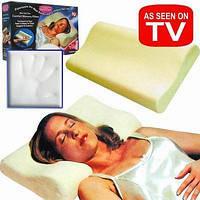 Подушка ортопедическая, Подушка для здорового сна, подушка с памятью « Memory Pillow » (Мэмори Пилоу)