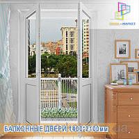 Купить пластиковые балконные двери Бровары, фото 1