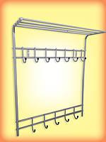 Настенная вешалка для одежды
