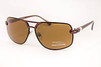 Мужские солнцезащитные очки с коричневой линзой, фото 1