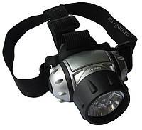 Светодиодные фонарики, налобный фонарь, 7 Led, фонарик для вело-прогулки, Led Head Ligh