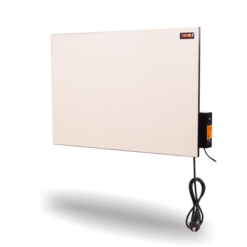 Керамическая интелектуальная панель DIMOL Mini Plus 01 (кремовая), 370 Вт с программатором
