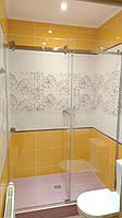 Раздвижные двери в душ. Установка, изготовление