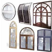 Изготовление окна любой конфигурации Киев