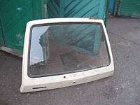 Крышка багажника ЗАЗ 1102 Таврия задняя дверь ляда в сборе со стеклом замком среднее состояние