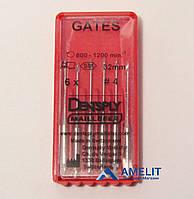 Гейтс, развертки, №4, длина 32мм (Gates, Dentsply Maillefer), 6шт./упак.