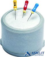 Клин-стэнд для эндодонтических инструментов (Endometric) + 30 вкладышей
