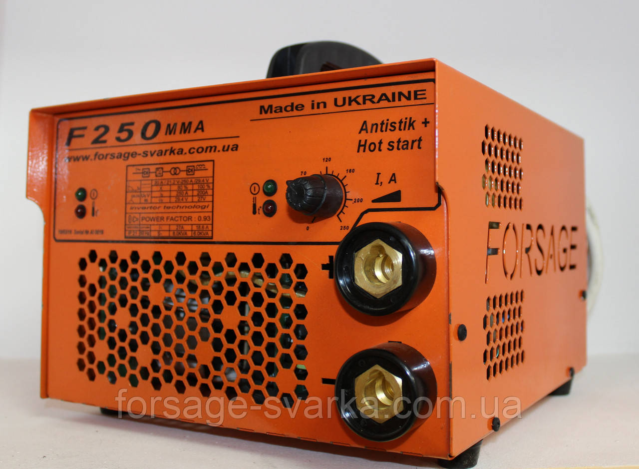 Инвертор Forsage 250 ММA Twin (Украина)