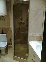 Двери в душ. Установка, изготовление