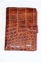Мужской коричневый кошелек из натуральной кожи
