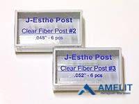 Штифты стекловолоконные Джей-Изи Пост, №1 (J-Esthe Post, Jen-Dental), 6шт./упак.