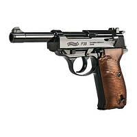 Пистолет пневматический  Umarex Walther P38 blowback