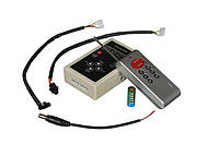 "Контроллер RF RGB 12А RW 1LED (8 buttons) для ленты ""Бегущая волна 1LED"", 12V, 12A, 144W"