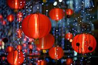 Удивительные китайские фонарики из бумаги