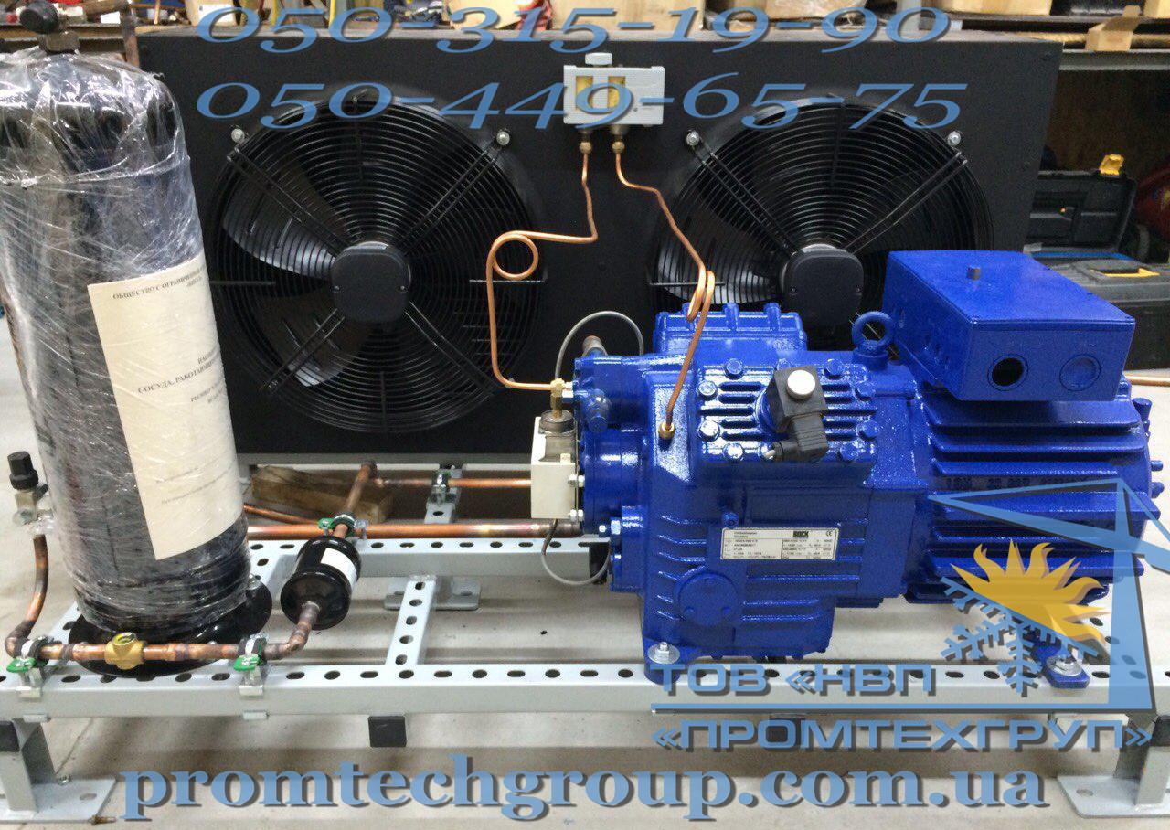Компрессорно-конденсаторный агрегат Bock HGX4/465-4 S б/у