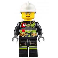 Конструктор LEGO City Fire Пожарный автомобиль с лестницей (60107)