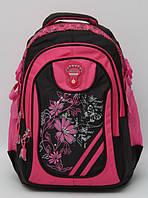 Прочный рюкзак. Красивый школьный рюкзак. Удобный рюкзак для девочки.Подростковый рюкзак. Код: КТМ245.
