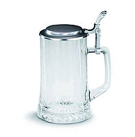 ARTINA Кружка пивная 93363, 0.5 л олово/стекло/без декора