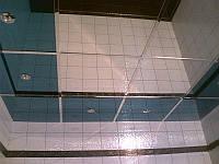 Потолок подвесной, кассета серебро зеркальное, Германия, 600*600