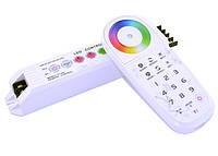 Контроллер RF RGB 18A (Touch) + PRG, 12V, 6А/канал, 216W
