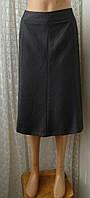 Юбка женская деловая элегантная до колена бренд Collection de Benhams р.50 6013а