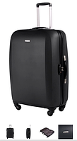 Средний чемодан Samsonite U66*003 Starwheeler Black