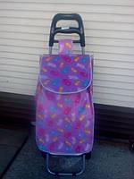 """Хозяйственная сумка - тележка на колесиках """"Перышко"""", фото 1"""