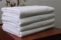 "Махровое полотенце без бордюрное 100Х150 ""Люкс"" Белое 450"
