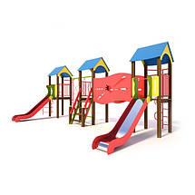Игровые комплексы/горки:высота 1.2м(5-7лет)