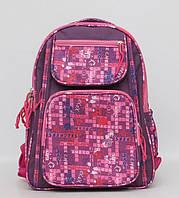 Школьный рюкзак для девочки. Красивый рюкзак. Ортопедический рюкзак. Прочный школьный рюкзак. Код: КТМ247. , фото 1