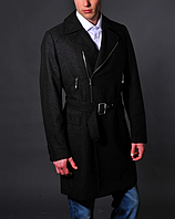 Мужское серое пальто - Richmond