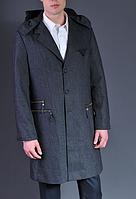 Серое мужское пальто - Frankie Morello