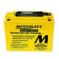 Мото аккумулятор MOTOBAT MBTX24U, фото 1