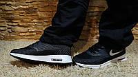 Кроссовки черные, Nike (фейк), 45 размер