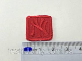 Нашивка New York (квадрат) , цвет красный
