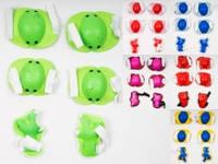 Защита для коленей, локтей, 6 цветов, в сетке + MMT-MS0032-2