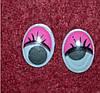 Глазки с ресничками 14260