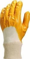 Перчатки нитрил оранжевые штукатур