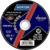 Norton круг шлифовальный по металлу 125*6,4*22.2