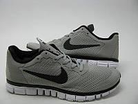 Кроссовки Nike Free 3.0 V2 All св. серые с черным