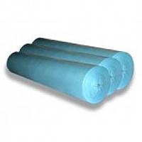 Простынь одноразовая в рулоне, голубая, ширина: 60см, длинна: 100м, плотность 20г/м2 Неман (Украина)