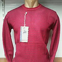 Мужской свитер тонкий однотонный