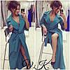 Платье-кардиган с поясом , фото 2