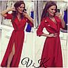 Платье-кардиган с поясом , фото 5