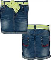 Юбка девочка 116-146 джинс