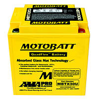 Мото аккумулятор MOTOBATT MBTX30U