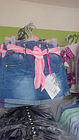 Юбка девочка 104-116 джинс