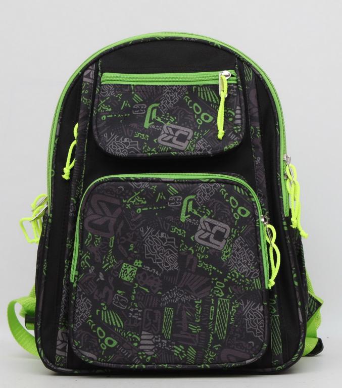 Школьный рюкзак с ортопедической спинкой. Вместительный рюкзак. Прочный рюкзак.Рюкзак для мальчика.Код:КТМ249.