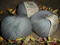 Gazzal Baby Cotton (беби коттон) 3430 серый
