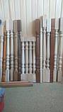 Столбы, балясины для лестниц из дерева, фото 6